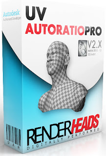 RenderHeads UVAutoRatioPro v2.5.4 for MAYA 2013