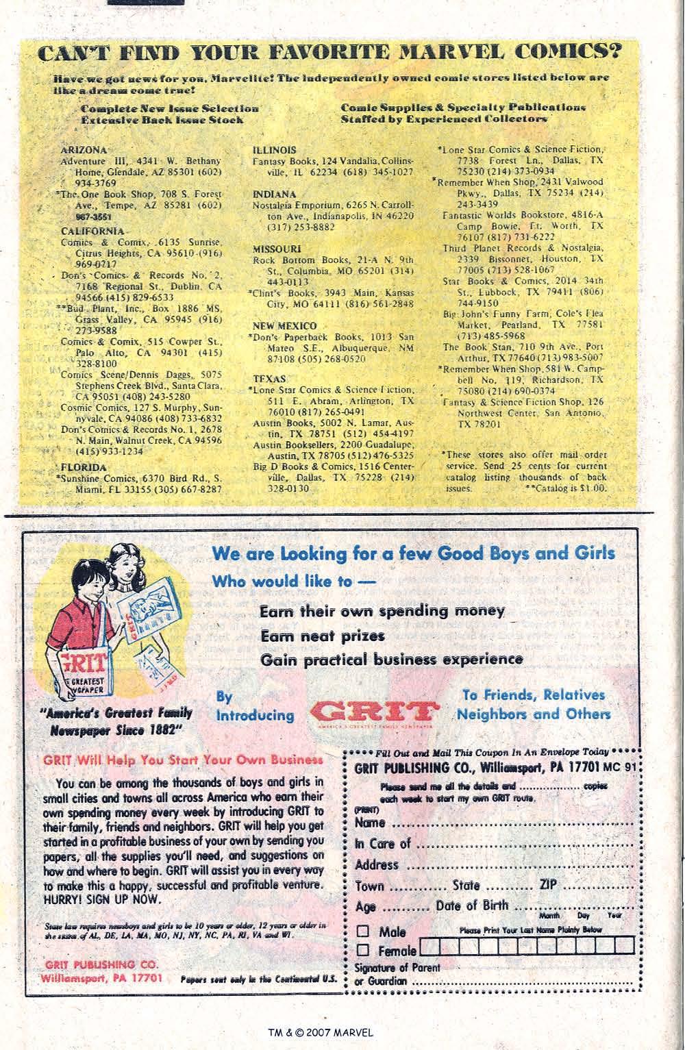 Captain America (1968) Issue #266 #181 - English 34