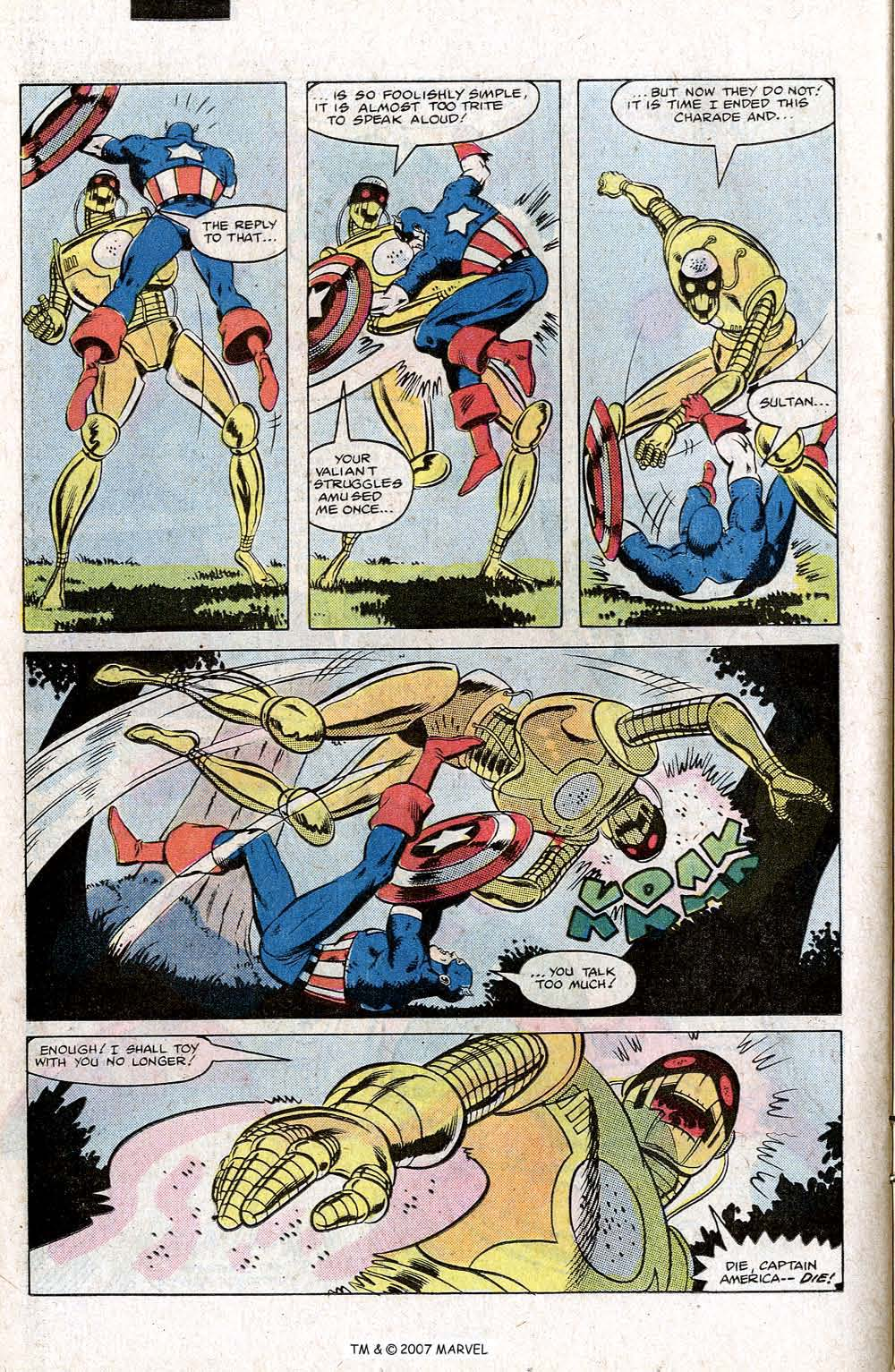 Captain America (1968) Issue #266 #181 - English 26