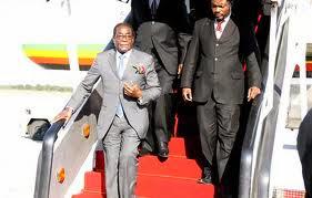 Mugabe's official plane Boeing 767