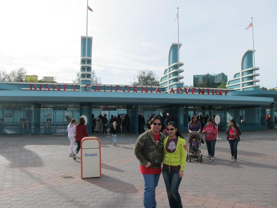 Disney California Adventure entrance