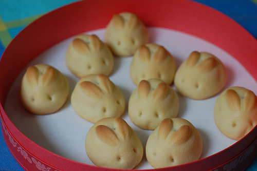 At Easter I fell in love with these cute bunny rolls , but there were ...