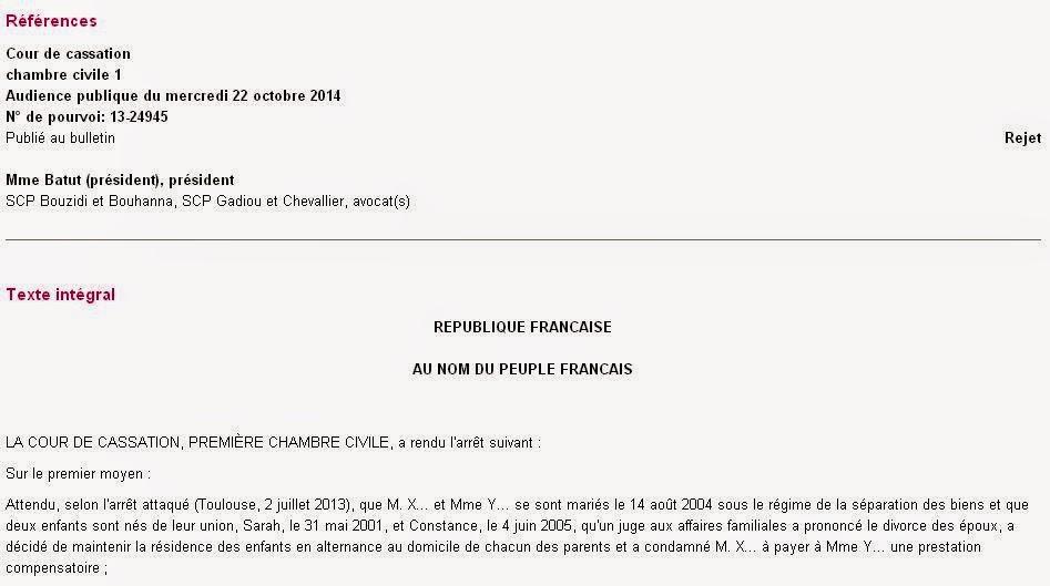 Jurisprudences Cour de Cassation justitialand
