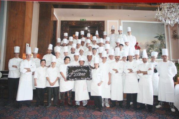 Kitchen Brigade 2008 2009 Badrutt s Palace Hotel