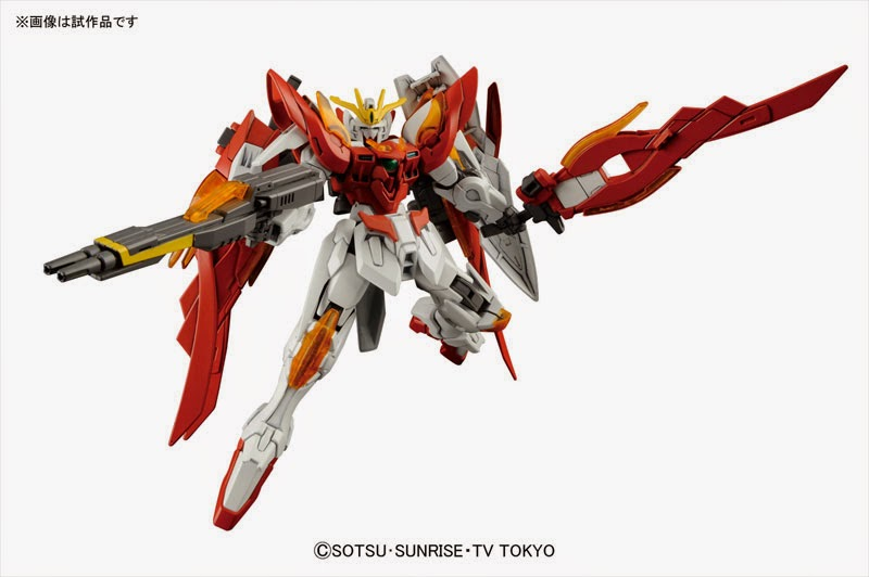High Grade Build Fighters Wing Gundam Zero Honoo official image 00