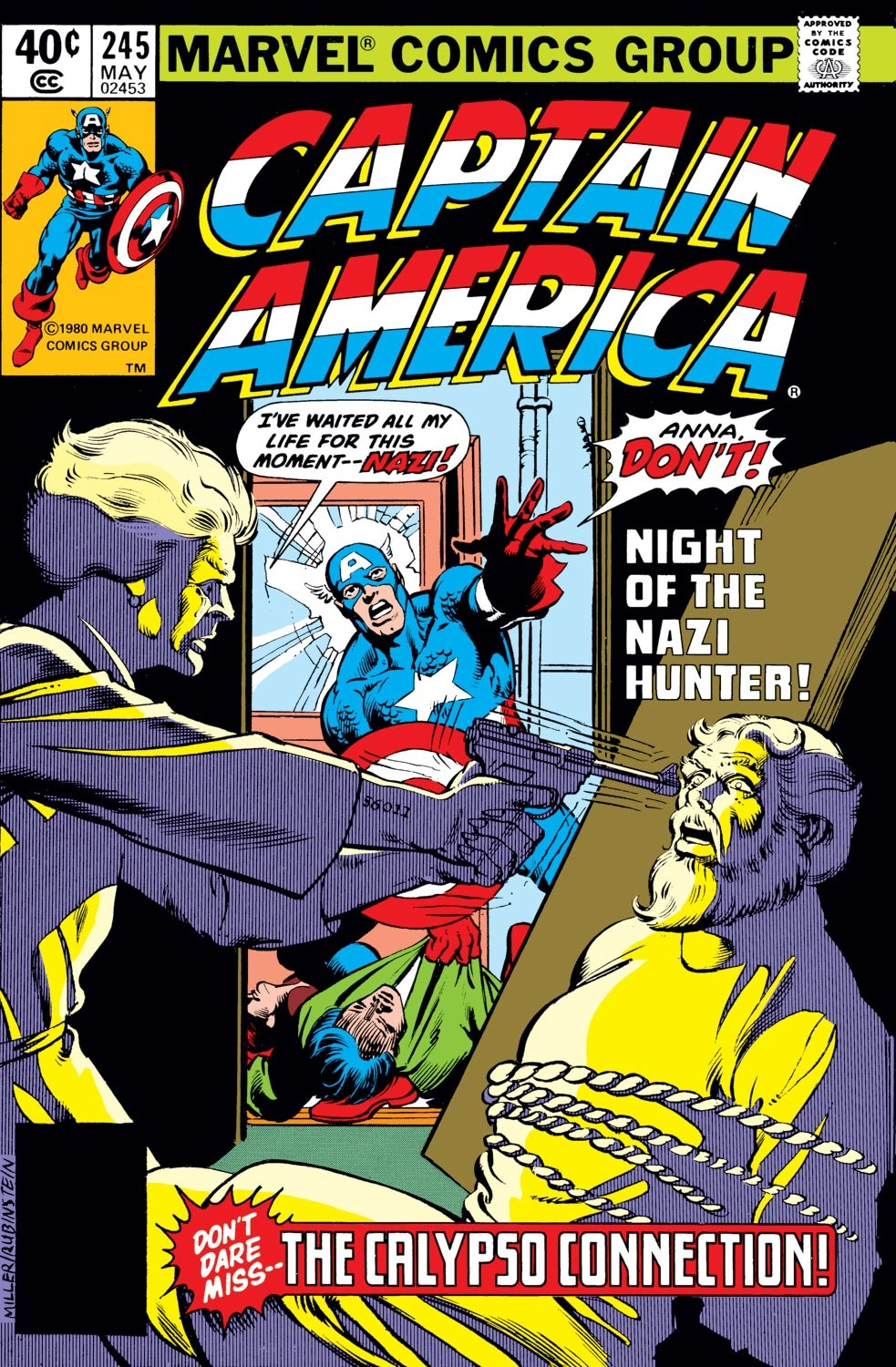 Captain America (1968) Issue #245 #160 - English 1