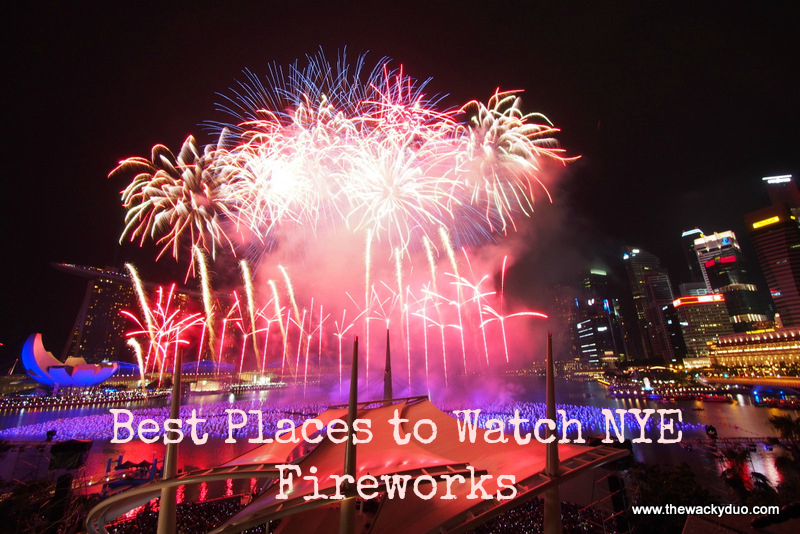 best place to watch new year eve fire works countdown 2017