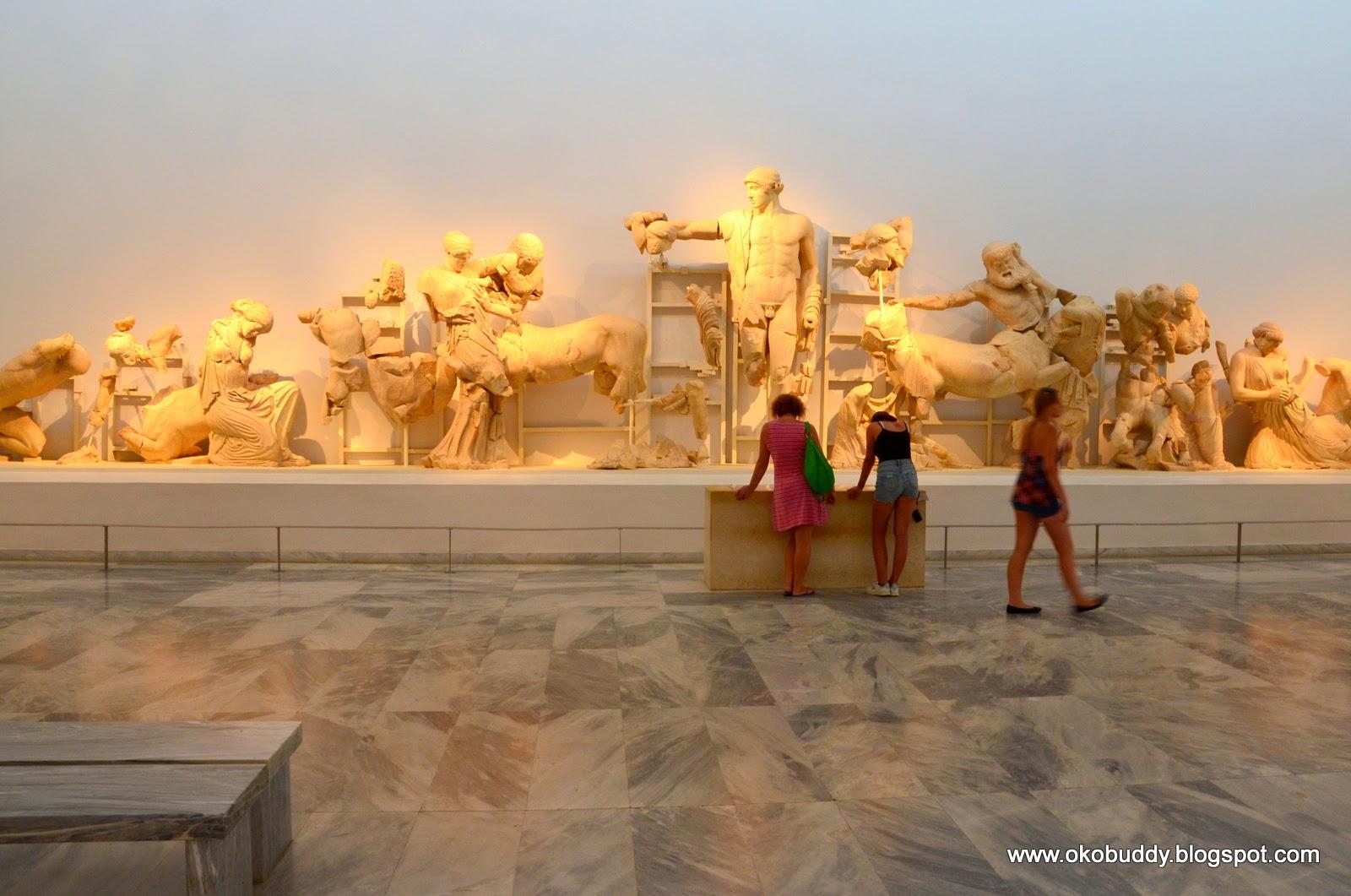 Muzeum w Olimpii. Grecja