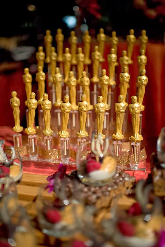 2014 little chocolate oscar lollipops