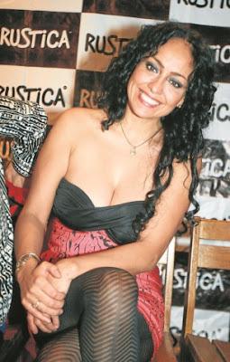 Sara Manrique luciendo hermosa y radiante