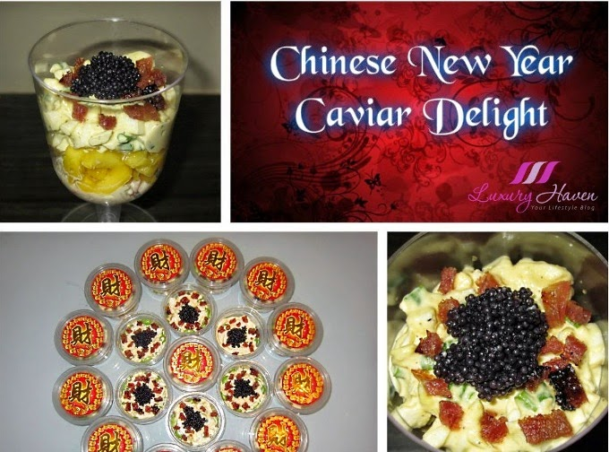chinese new year recipe ideas caviar bak kwa