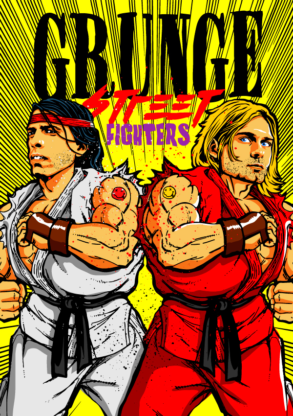 Street Fighter Grunge