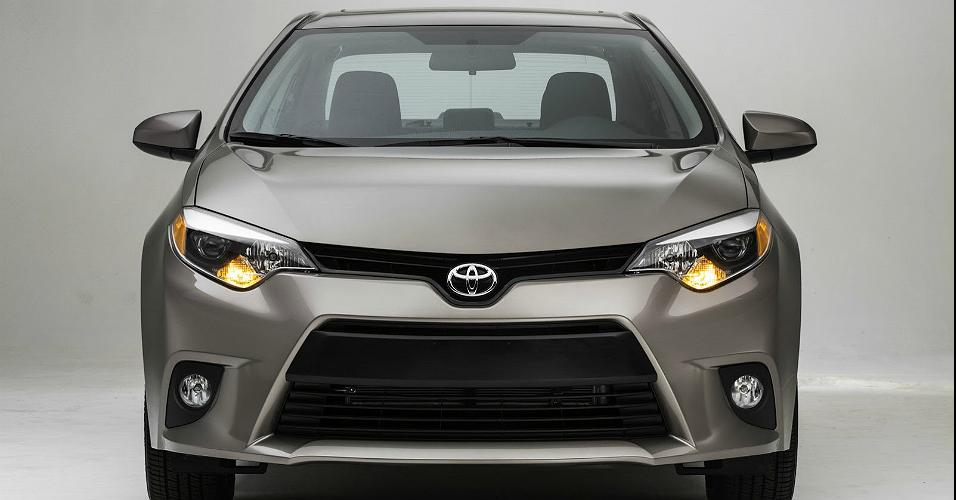 novo Toyota Corolla 2014 dianteira