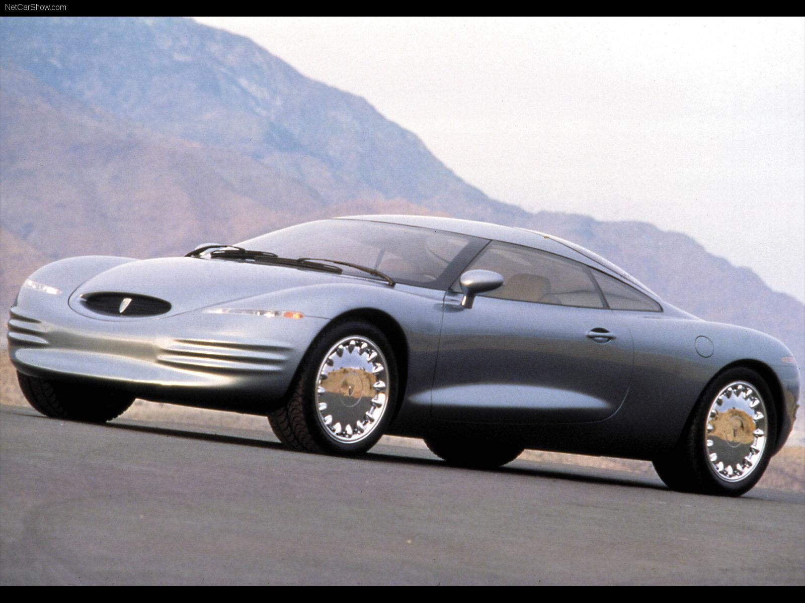 Hình ảnh xe ô tô Chrysler Thunderbolt Concept 1993 & nội ngoại thất