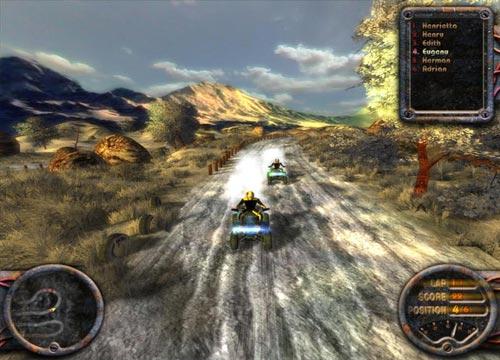 لعبة سباق بيتش باجي ATV Quadro Racing