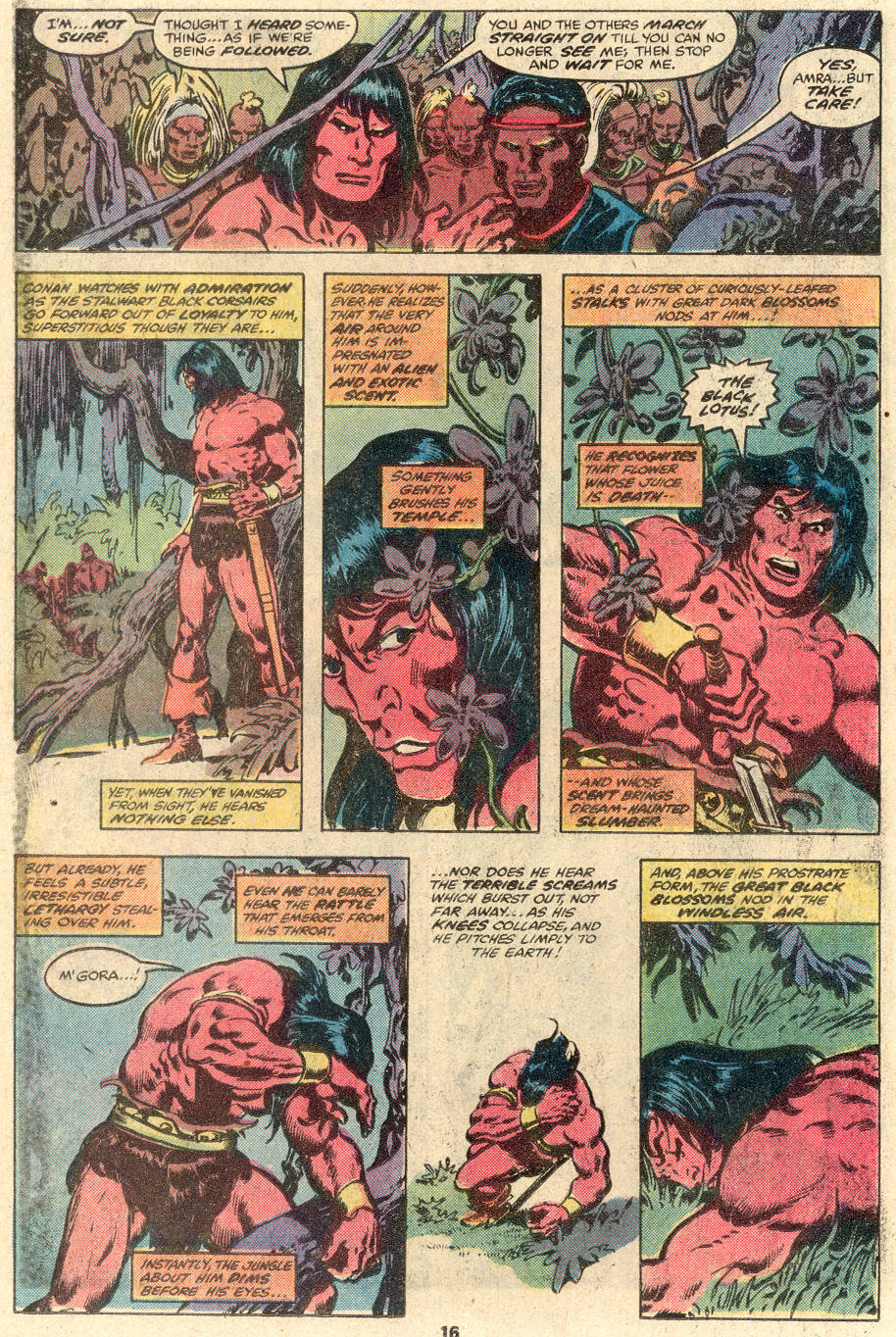Conan the Barbarian (1970) Issue #100 #112 - English 13