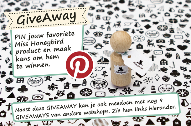 PIN & Win jouw favoriete Miss Honeybird item