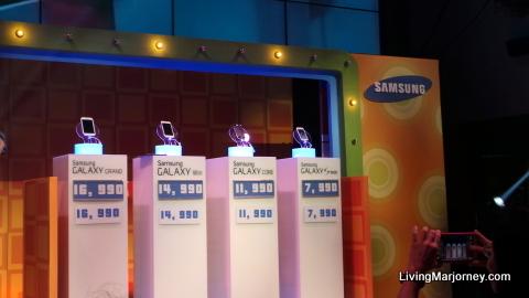 Samsung Smart Choice Series smartphones