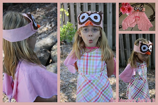 Owl Costume headband