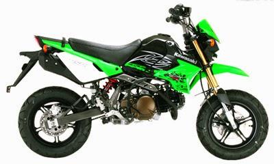 Kawasaki KSR 110 2014