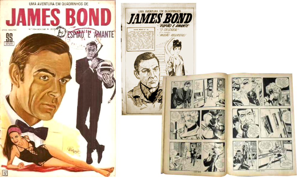 James Bond Book Cover Art ~ Illustrated the art of james bond january