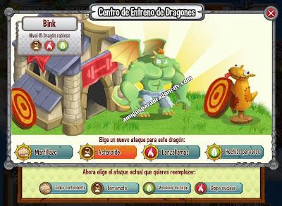 imagen de los ataques del dragon rabioso