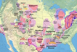 An idea of the scale in the US.