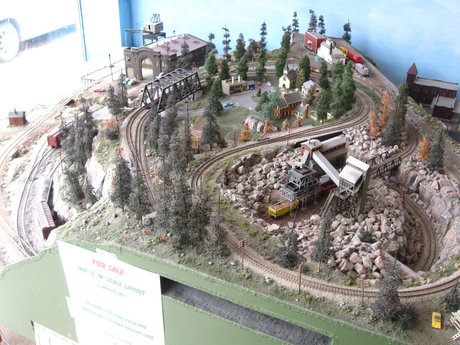 ho Scale Graveyard The Joint ho n Scale Layout