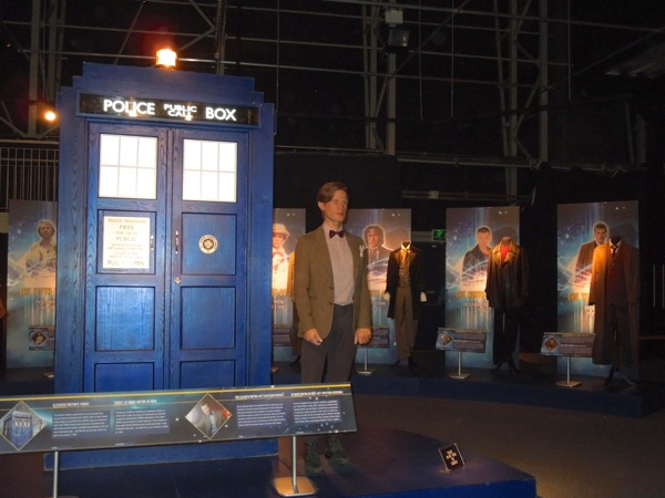 Doctor Who Experience TARDIS 11th Doctor waxwork