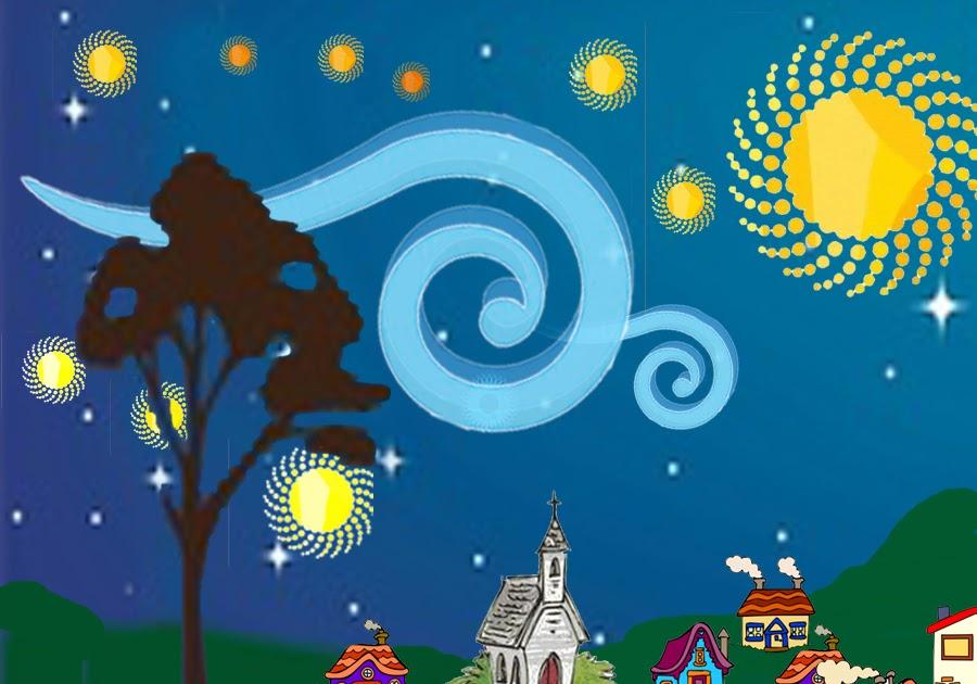 clip art art  quot starry night quot  vincent van gogh venus clip art planet sailor venus clipart