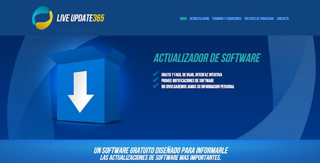 """""""Live Update 365"""" - Virus"""