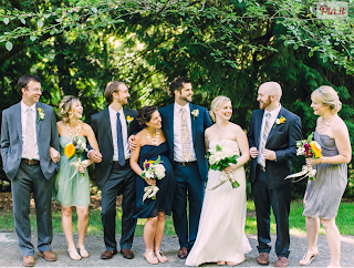 Peter and Lindsay wed at Washington Park Arboretum - Patricia Stimac, Seattle Wedding Officiant