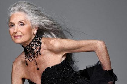 Di Usia 87 Tahun, Nenek Ini Kerap Dipanggil Menjadi Model
