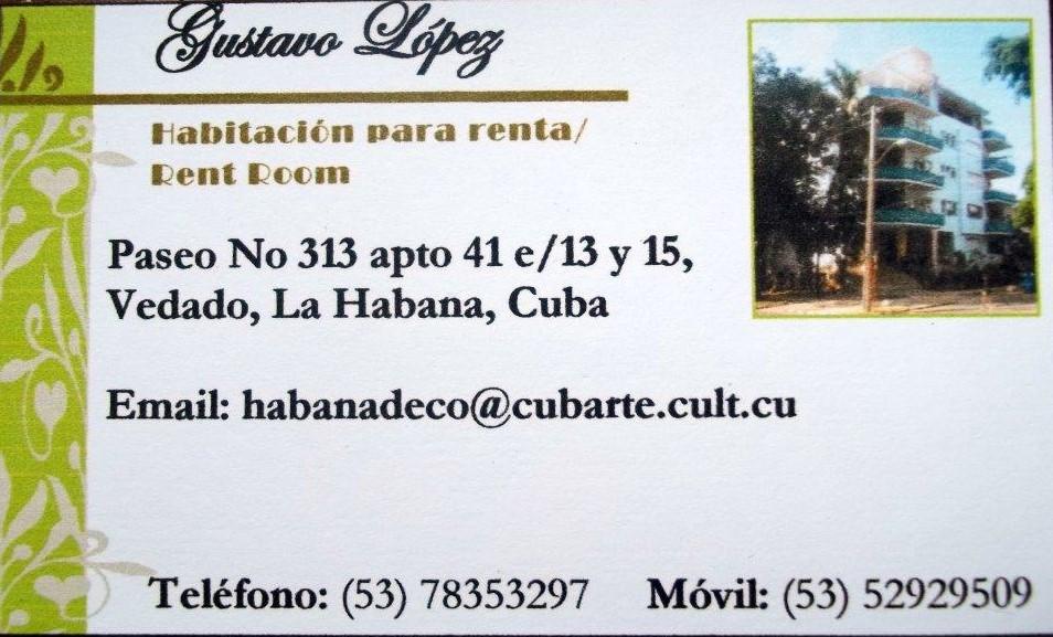 Habitación para alquiler en La Habana - Room to rent in Havana