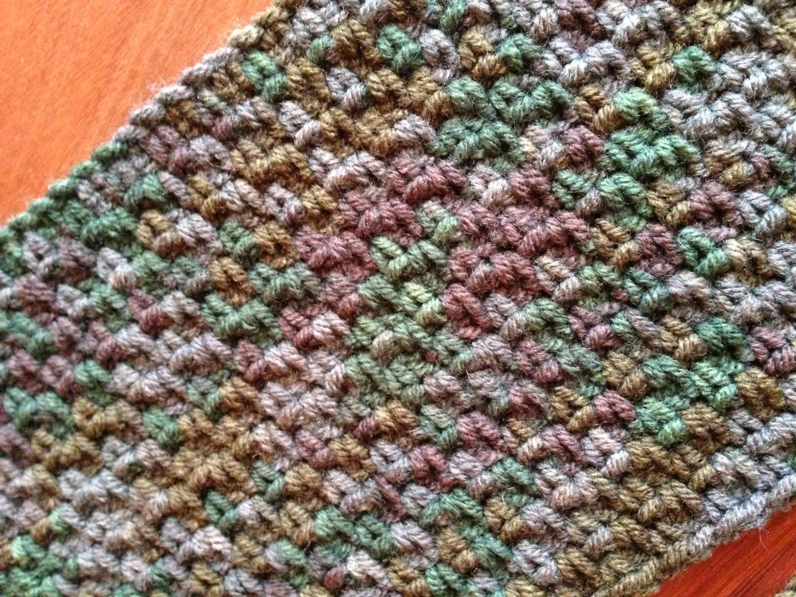 Crochet Obsession: Men\'s crochet scarf