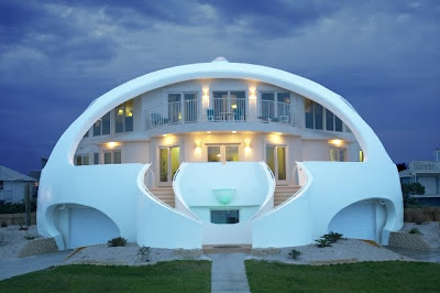 "Disaster Proof ""Dome Home"""