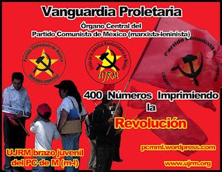 Publicación numero 400 de Vanguardia Proletaria (VP)