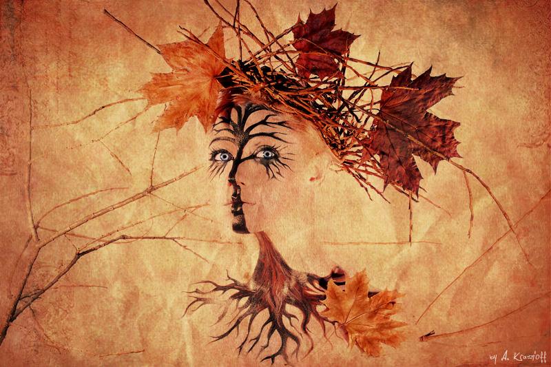 Образы времён года образ осени
