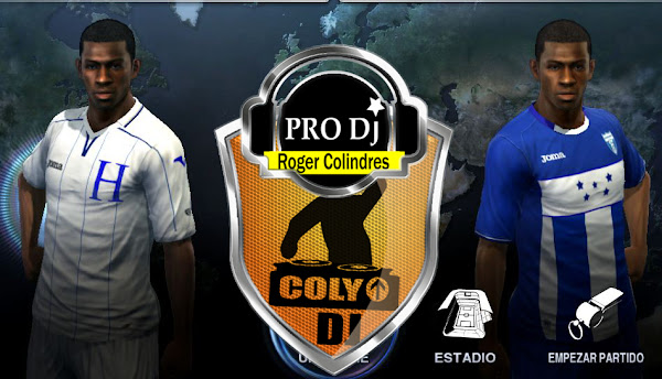 PES 2012 Honduras 2012/13 Kits by DJColindres
