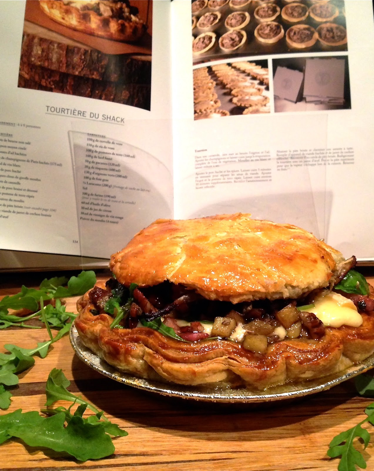 ... recipes tourtiere du shack the fake shack or the shack burger