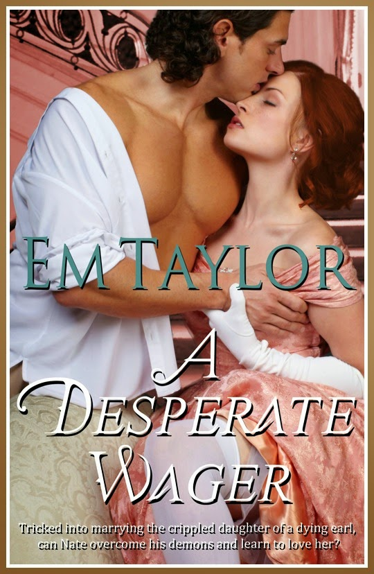 http://romancewithabook.com/2014/10/book-tour-giveaway-excerpt-spotlight-a-desperate-wager-by-em-taylor.html