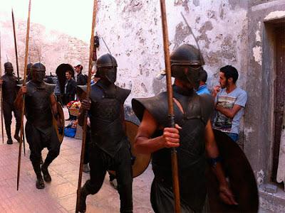 ejército rodaje Marruecos 3 temporada - Juego de Tronos en los siete reinos