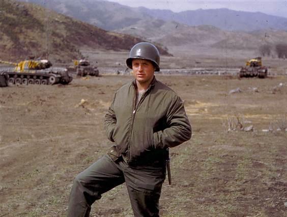 Majori David Teich i ushtrisë së SHBA-ve, Lufta e Koresë