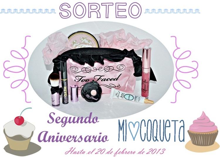 "SORTEO Segundo Aniversario ""MI COQUETA"""