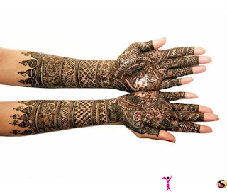 indian bridal mehndi