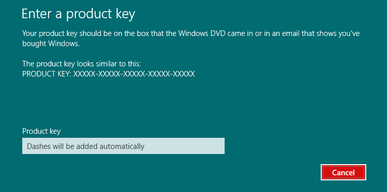 activate product key cmd