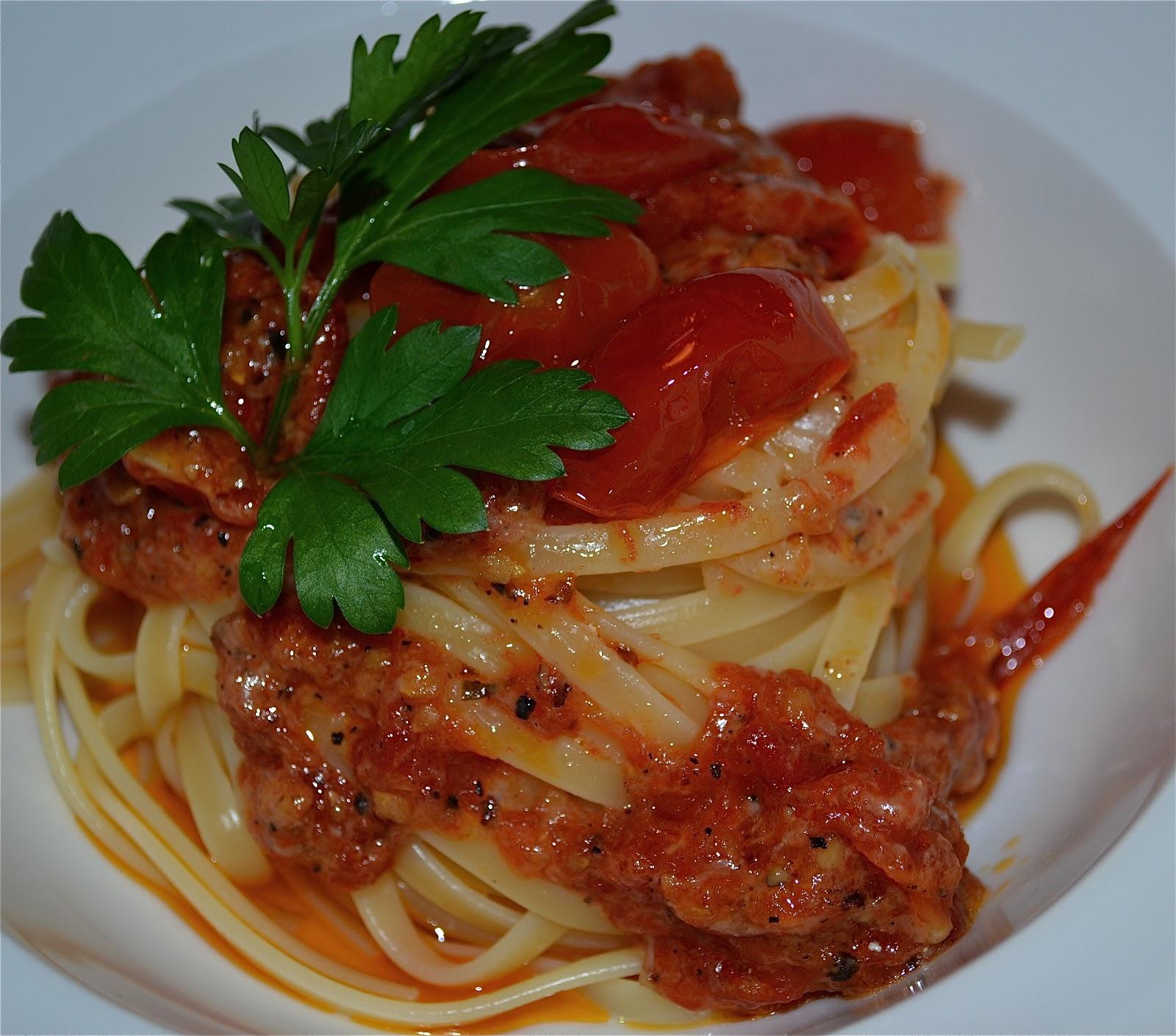 recept tomatsås till pasta