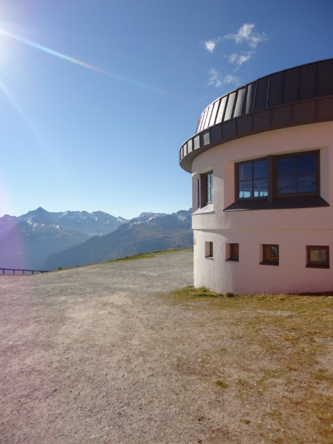 Summit Restaurant at Stubnerkogelbahn at Bad Gastein in Austria