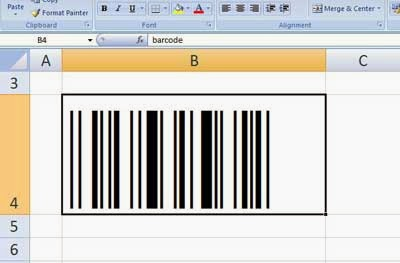 Belajar word n excel belajar word dan excel cara membuat barcode dengan microsoft excel ccuart Image collections
