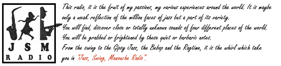 Jazz, Swing, Manouche Radio (english)